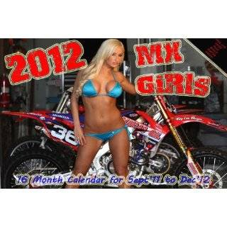 2012 MX GIRLS BIKINI CALENDAR supercross motocross