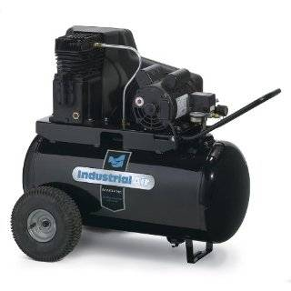 Air IPA1882054 20 Gallon Belt Driven Air Compressor with Twin Cylinder