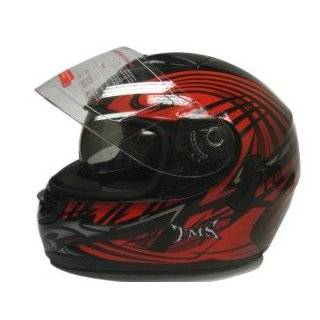 Dual Visor Full Face Motorcycle Street Sport Helmet DOT (Medium