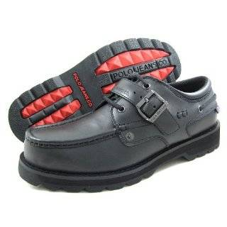 Polo Jeans R.L. Mens B Canopy Buckle Black Boots/Shoes US