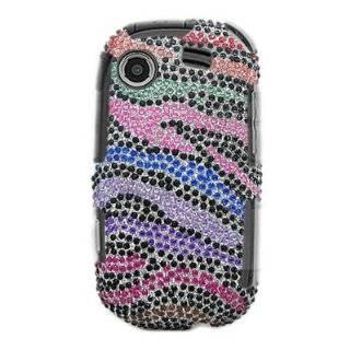 For Samsung Message Touch R630/r631 Accessory   Rainbow Zebra Design