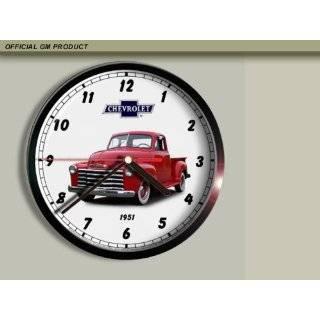 1951 Chevrolet Chevy Pickup Truck Wall Clock E034