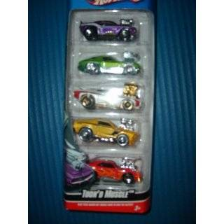 Hot Wheels 5 car Gift Pack Muscle Mania Toys & Games