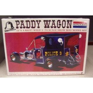 7807 Monogram Paddy Wagon Show Rod 1/24 Scale Plastic Model Kit