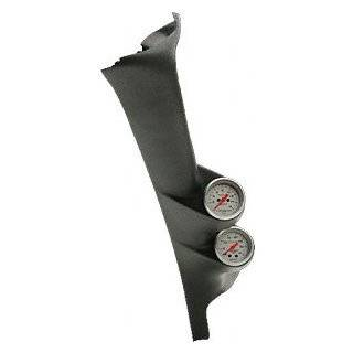 Auto Meter 7084 Black Dual A Pillar Gauge Kit for 2000