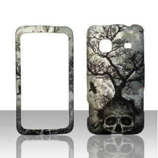 Tree Skull Samsung Galaxy Precedent Straight Talk Phone Cover Case