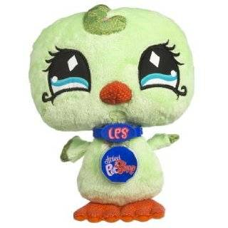 Littlest Pet Shop VIP Virtual Interactive Pet Plush Figure Green Bird