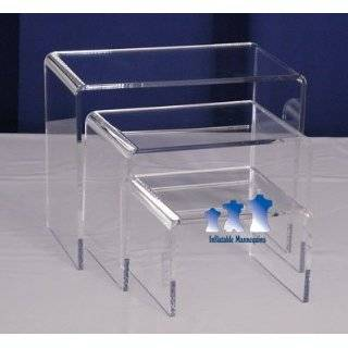 MS9 Mannequin Stand, Acrylic Riser Set, Medium Arts, Crafts & Sewing
