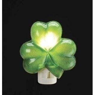 Luck of the Irish Green Shamrock St. Patricks Day Novelty Night Light