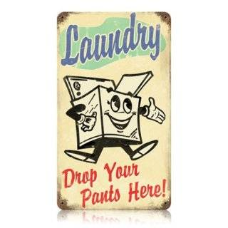 Laundry Room Retro Sign / Wall Plaque