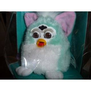 FURBY BABIES Interactive Electronic Toy (Baby blue, white belly, pink