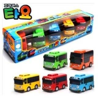 Little Bus Tayo Toy 5 Pcs (Tayo + Rogi + Gani + Rani + Citu)