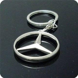 Mercedes Benz Star Logo Aluminum Black Front License Plate