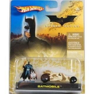 Mattel Hot Wheels 2005 164 Scale Batman Begins Black Mini Batmobile