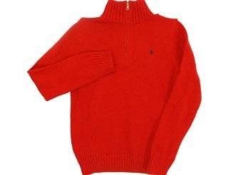 Polo Ralph Lauren Quarter Zip Sweater   Boys Explore