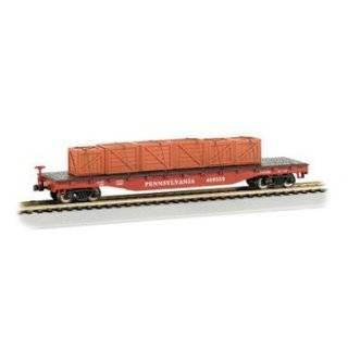 Bachmann Trains Pennsylvania Railroad with Steel Load