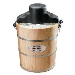 Bucket Manual Hand Crank Ice Cream Maker  Kitchen & Dining