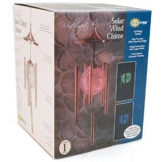 Sunergy Solar Color Changing Lighted Wind Chime w/ Glass Balls