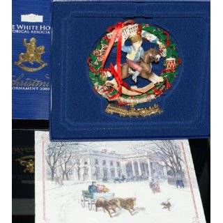 Official White House Christmas Ornament   President Theodore Roosevelt