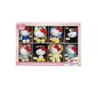 Sanrio 50th Anniversary Hello Kitty Friends Mascot Plush