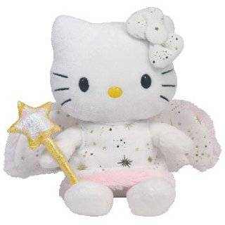TY Beanie Baby   HELLO KITTY ( GOLD ANGEL ) (UK Exclusive)