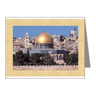 Masjid Al Aqsa/Arabic Eid Note Cards (Pk of 20) by ayat