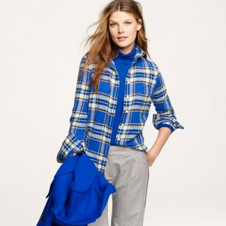 boy shirt in blue vintage camp flannel $ 78 00
