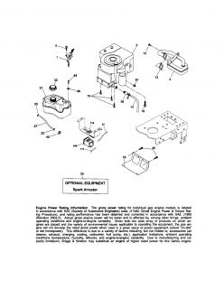 Model # 917289033 Craftsman Tractor   Chassis and enclosures (40 parts