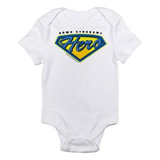21 Gifts > 21 Baby Clothing > Down Syndrome Super Hero Infant Bodysuit