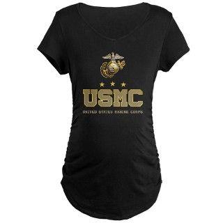 Army Gifts > Army Maternity > USMC   Eagle Globe Anchor Maternity Dark