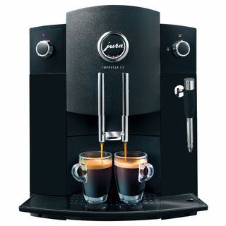 Jura Piano Black Impressa C5 Fully Automatic Coffee Center