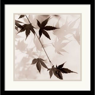 Alan Blaustein Japanese Maple Leaves No. 1 Framed Art Print