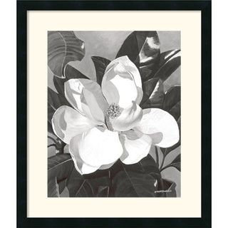 Marianne Hornbuckle White Magnolia Framed Art Print