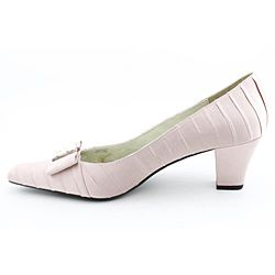 Renee Womens Felicity Pink Dress Shoes Wide (Size 12)