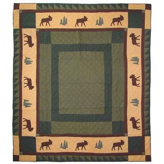 Moose Tracks Queen size Quilt