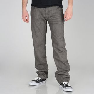 Ray Jeans Mens Grey Denim Skinny Jeans