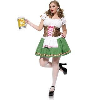 Leg Avenue Womens Plus Size Gretchen Costume