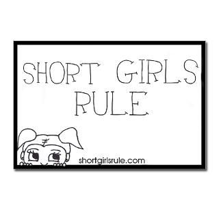 Short Girls Rule Postcards (Package of 8)