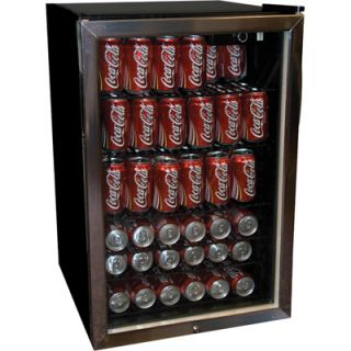 Haier 150 Can Beverage Center   4.6 Cu Ft   Black