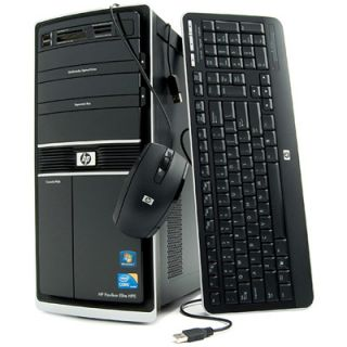 HP Pavilion S5657C Slimline 500GB Hard Drive Desktop PC   Refurbished