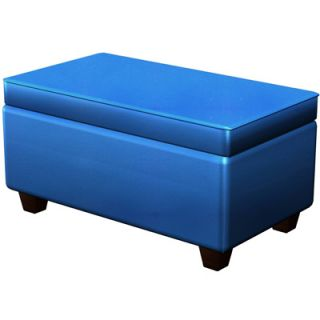 4D Concepts Upholstered Storage Bench
