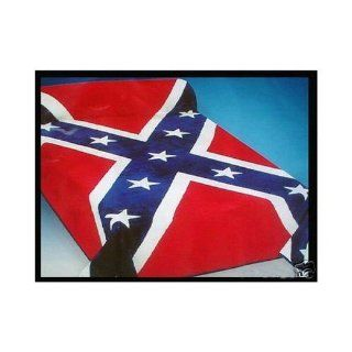NEW KING CONFEDERATE FLAG Korean Mink Blanket: Home & Kitchen