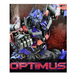 Optimus Prime Transformers Light Weight Fleece Blanket: Home & Kitchen
