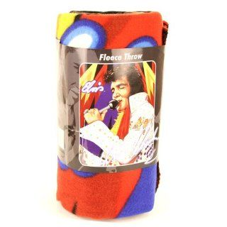 Elvis Presley Microphone Fleece Blanket (50x60): Everything Else