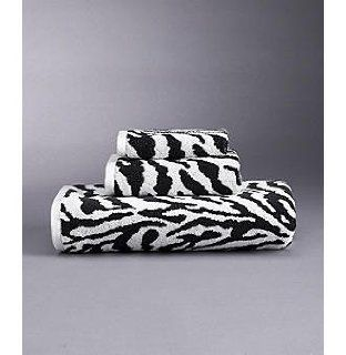 Karen Neuburger KN Luxury Home Black Zebra Jacquard Hand