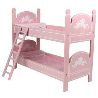 18 Doll Bunk Bed Perfect fit for 18 Inch American Girl Doll Bed