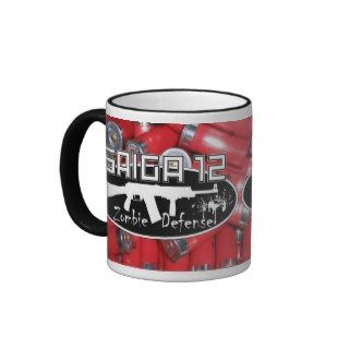 Saiga 12   Zombie Defense Mug