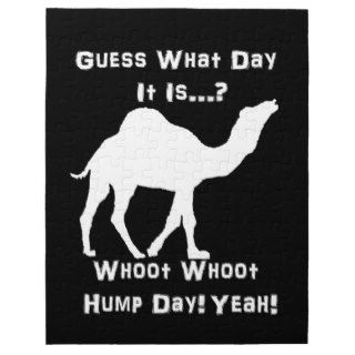White Hump Day Camel Puzzles