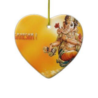 Hindu God Ganesh Christmas Ornaments