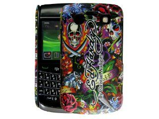 Ed Hardy Ed Hardy Logo Tattoo Case for Blackberry Bold 9700: